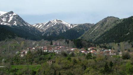 Το χωριό της Αγίας Τριάδας Ευρυτανίας